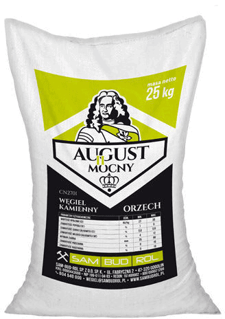 August II Mocny Węgiel kamienny Orzech